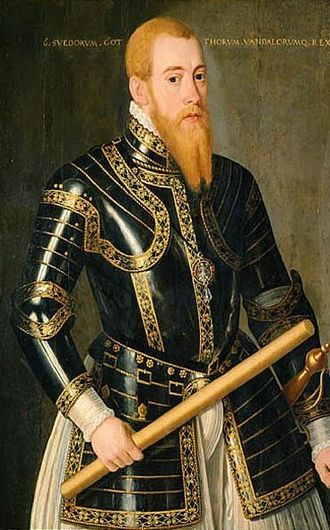 Eric XIV of Sweden - Eric XIV by Domenicus Verwilt.