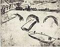 Ernst Ludwig Kirchner, Bridge on Crown Prince Embankment (Brucke am Kronprinzenufer), 1909, NGA 66675.jpg