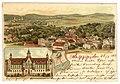 Erwin Spindler Ansichtskarte Salzbrunn Schule.jpg