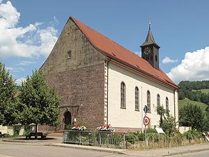 Eschbach, Baden-Württemberg - Image: Eschbach, die Sankt Jakobus Pfarrkirche foto 6 20213 07 25 13.18