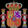 Escudo España, oficial conforme Boletín Oficial del Estado BOE RD 1511.1977.png