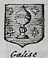 Escudo da Galiza no Atlas Portatif de Daniel de la Feuille (1702).jpg