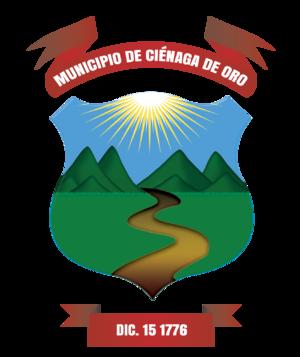 Ciénaga de Oro - Image: Escudo de Ciénaga de Oro