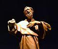 Escultura de sant Francesc d'Assís, Museu Arqueològic, Alacant.JPG