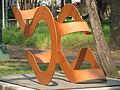 Esculturas en el jardín del Museo de Arte Moderno de la Ciudad de México 03.JPG