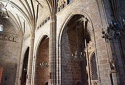 Església de sant Bertomeu de Xàbia, capelles laterals.JPG