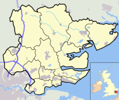 Chelmsford is located in Essex