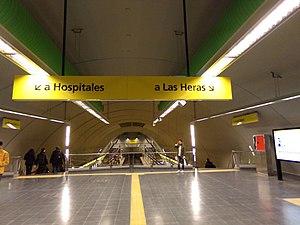 Santa Fe - Carlos Jáuregui (Buenos Aires Underground) - Image: Estación Santa Fe, línea H 02
