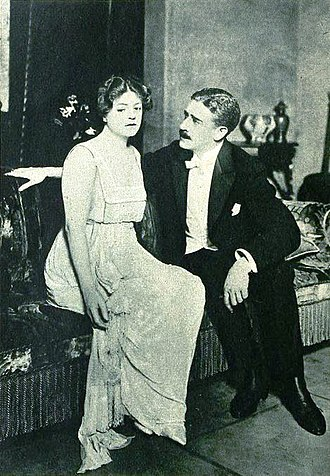 Zoe Akins - Ethel Barrymore and Claude King in the Broadway production of Déclassée (1919)