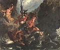 Eugène Delacroix – Roger befreit Angelika oder Heiliger Georg.jpg