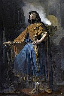 Visigothic king