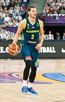 Busty basketball player