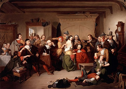Examination of a Witch - Tompkins Matteson