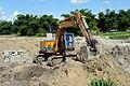 Excavator in Congo.JPG