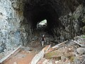Exploring old tunnel near Spruce Trail (29132158213).jpg