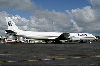 FitsAir - Expo Air's DC-8 at Mauritius. (2006)