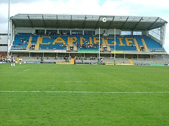 Yorkshire Carnegie - The new Carnegie Stand at the rugby ground.