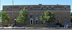 Exterior of the Douglas, AZ post office..jpg