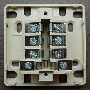 F-010 - Open telephone socket