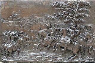 Le Passage du Rhin (12 juin 1672)
