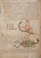 F14.v. Constellation of Serpentius on Scorpio - NLW MS 735C.png