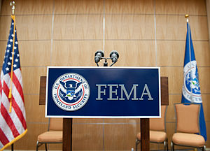 Washington, DC, May 20, 2009 -- The FEMA logo ...
