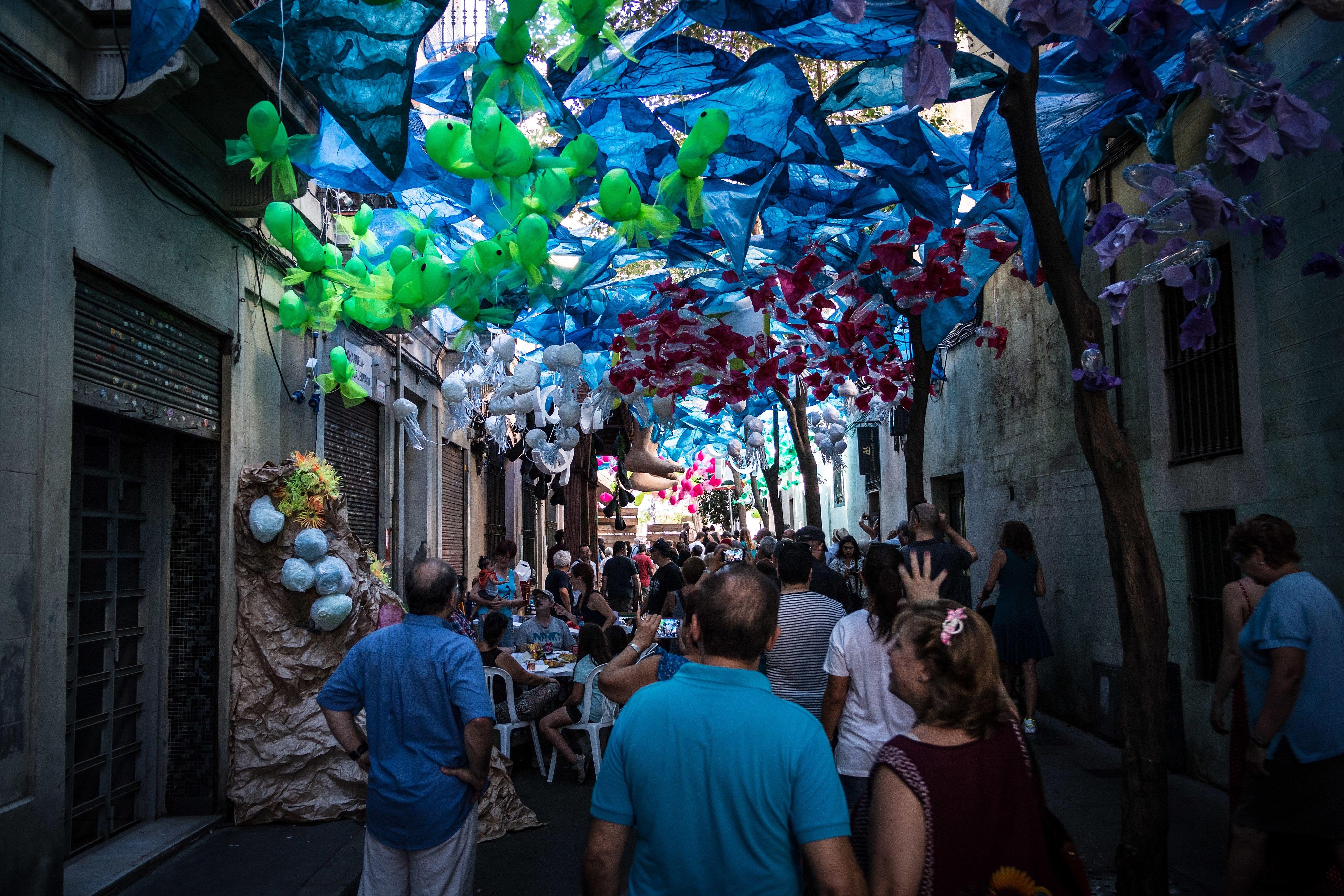 FM Gracia 2016 - Decoración Calles