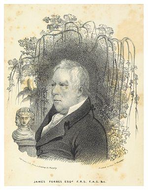 James Forbes (artist) - Image: FORBES, James Esq. (1834)
