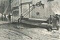 Fabrication voies courbes Etablissement Decauville Ainé Petit-Bourg, gravure 1878.jpg
