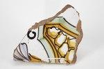 Fajans, kakelfragment - Hallwylska museet - 90457.tif