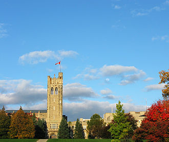 University of Western Ontario - Western's present campus was purchased in 1916. Completed in 1923, University College was the first building completed on site for Western.