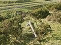 Fallen finger post on Glyndwr's Way - geograph.org.uk - 1176485.jpg