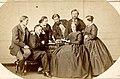 Famille de la noblesse française jouant aux échecs .jpg