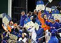 Fans hold up Noah Syndergaard Fatheads (22808005506).jpg