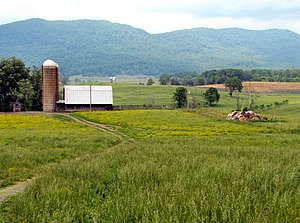 Claiborne County, Tennessee - Farmlands near Speedwell