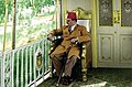 Farouk I in the Royal Train 1947.jpg