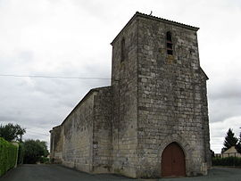 The church in Faye-sur-Ardin