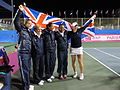 Fed Cup Group I 2012 Europe Africa day 4 Great Britain Fed Cup Team 002.JPG