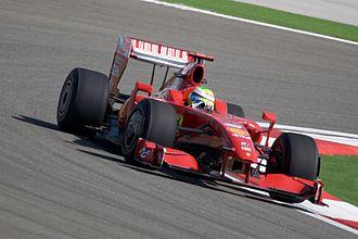 Ferrari F60 - Felipe Massa driving the F60 at the 2009 Turkish Grand Prix.