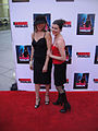 Femme Fatales Red Carpet - Heidi James and Hilary Prentice (7374130714).jpg