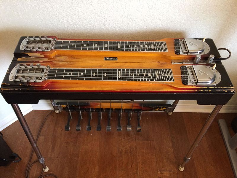 File:Fender 1000 pedal steel.jpg