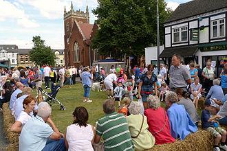 Browne Willis - Image: Fenny Poppers Festival, Aylesbury Street, Fenny Stratford