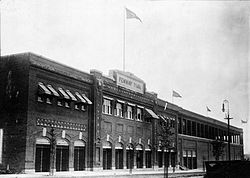 Fenway Park in 1914.Library of Congress Collection