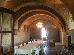 Ferretti Battery - Interior of the restaurant