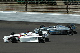 Indy Lights in actie