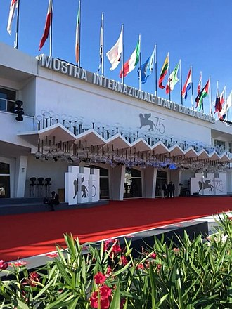 Venice Film Festival - Venice Cinema Palace on the Lido island