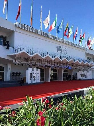 Venice Film Festival - Venice Cinema Palace on the Lido island