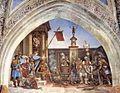 Filippino Lippi - Torture of St John the Evangelist - WGA13158.jpg