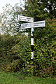 Fingerpost at High Laver and Matching Essex England.jpg