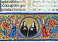 Firenze, breviarium monasticun sec. regulam s. benedictis abbatis, copiato da costanza e miniato da angela di antonio de' rabatti, 1518 (conv. s. 90) 04.jpg